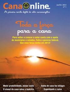 Edição 01 - Portal CanaOnline - Janeiro/Fevereiro 2013