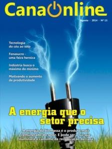 Edição 13 - Portal CanaOnline - Agosto 2014