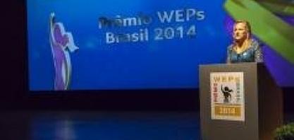 O Prêmio WEPs Brasil - Empresas Empoderando Mulheres – no V Cana Substantivo Feminino