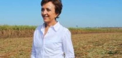 Elizabeth Farina, diretora-presidente da UNICA, no VI Encontro Cana Substantivo Feminino
