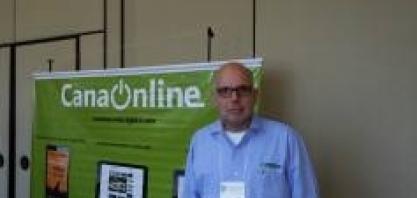 Marcos Landell, diretor do Centro de Cana do IAC, no IV Encontro Cana Substantivo Feminino