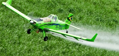 Monitoramento aumenta a eficiência da aplicação aérea de agroquímicos, reduz custo e preserva a natureza
