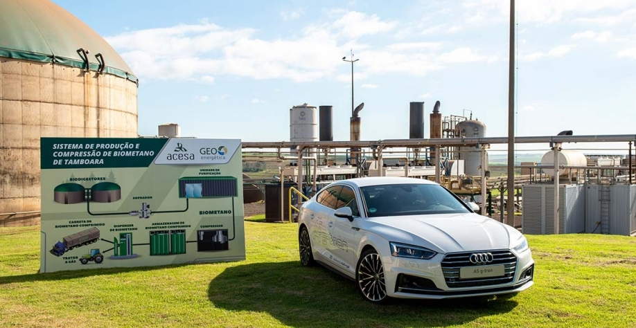Veículos testam potencial do biogás brasileiro
