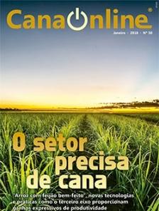 Edição 50 - Portal CanaOnline - Janeiro 2018