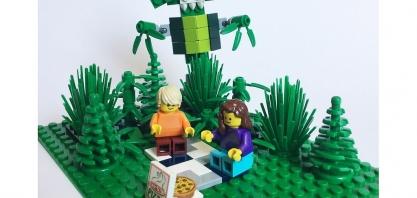 Com elementos botânicos, Lego tem a sua primeira coleção sustentável