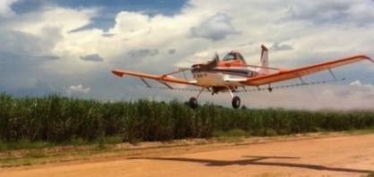 Frota brasileira de aeronaves agrícolas continua em expansão