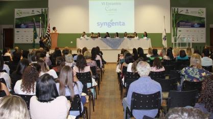 A Syngenta é apoiadora Máster do VIII Encontro Cana Substantivo Feminino
