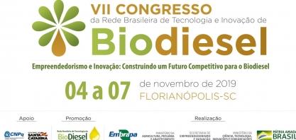 Empreendedorismo e inovação na cadeia do biodiesel será a temática do Congresso de 2019