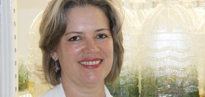 Silvana Creste, vice-diretora do Centro de Cana do IAC, no VIII Encontro Cana Substantivo Feminino
