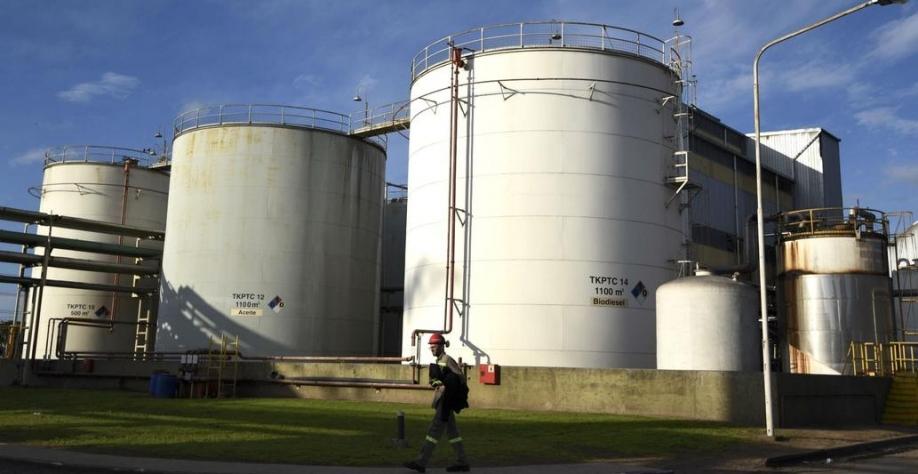 En 2018 la Unión Europea adquirió biodiésel de origen argentino por US$890 millones y 1,3 millones de toneladas. Fuente: AFP