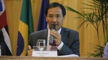 Pedro Mizutani,vice-presidente de Relações Externas e Estratégia da Raízen, no Encontro Cana Substantivo Feminino