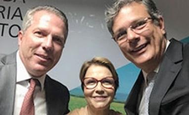 Ministra Tereza Cristina defende setor da bioenergia nos EUA e arranca um