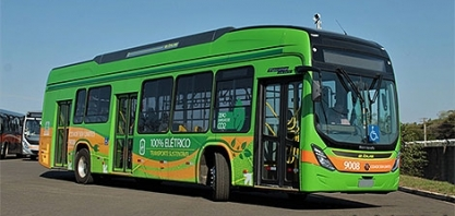 Chegou o primeiro ônibus elétrico brasileiro
