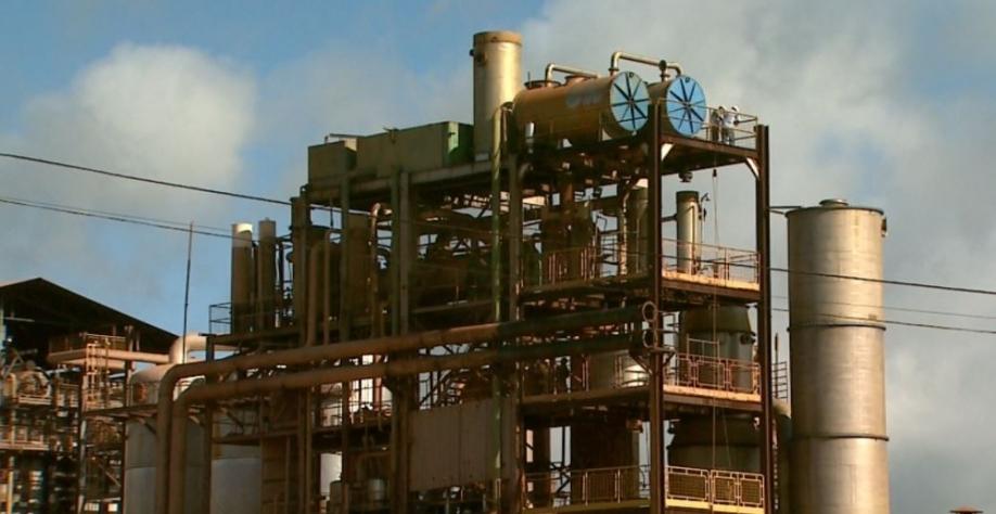 Usina de cana-de-açúcar da região de Ribeirão Preto (SP) — Foto: Reprodução/EPTV