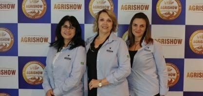 As mulheres na organização da Agrishow, a maior feira agrícola a céu aberto do mundo