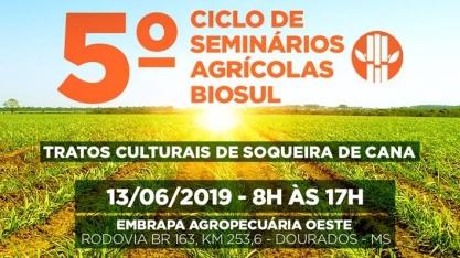 Convite 5° Ciclo de Seminários Agrícolas Biosul e Embrapa / 2° Encontro