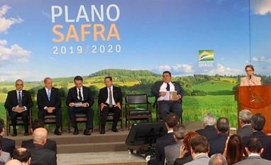 Com R$ 225,59 bilhões, Plano Safra 2019/2020 é lançado