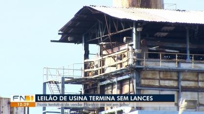 Nova tentativa de venda de usina em Flórida Paulista será realizada em julho