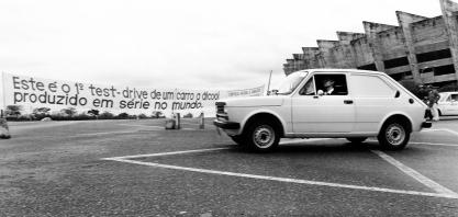 40 anos do carro a álcool: G1 andou no Fiat 147 ´cachacinha´