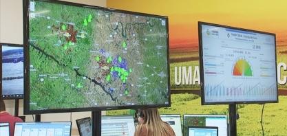Usinas de cana-de-açúcar usam satélites para monitorar incêndios