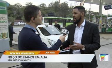 Preço do etanol sobe em São José dos Campos