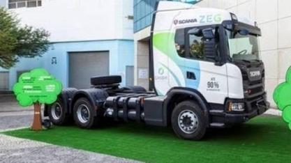 Scania vai começar a produzir caminhões movidos a gás no início de 2020