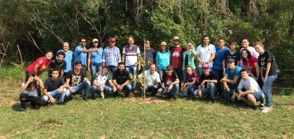 Da Mata participa de ação do Dia da Árvore em Valparaíso