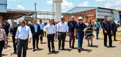 Usina é inaugurada e deve gerar empregos em Cuiabá