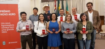 Santander anuncia vencedores do Prêmio Novo Agro
