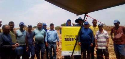 Colaboradores da Usina Uruaçu participam da Campanha Setembro Amarelo
