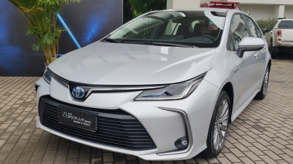 Toyota Corolla híbrido: primeiras impressões