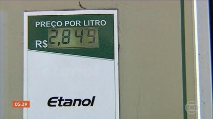 Preço do etanol sobe em São Paulo e irrita consumidores