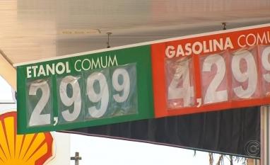 Aumento na demanda faz preço do etanol disparar nos postos