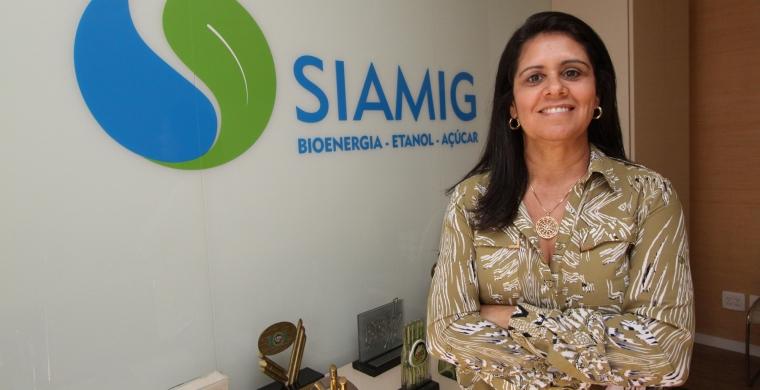 Mônica Santos, gerente de Comunicação da Siamig, no IX Encontro Cana Substantivo Feminino