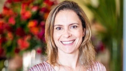 Thaís F. Neves, a primeira mulher a assumir a gerência de polo na Raízen, no IX Encontro Cana Substantivo Feminino