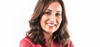 Adriana Oliveira, gerente executiva Negócios Agrícolas da Raízen, no IX Encontro Cana Substantivo Feminino
