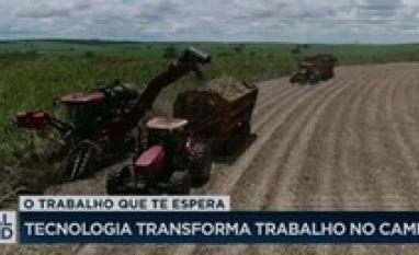 Tecnologia transforma trabalho no campo