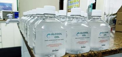 Cevasa doa álcool gel a integrantes e álcool 70% a instituições de 10 municípios