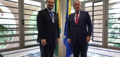 Unica propõe cooperação técnica com representação da UE