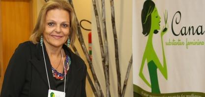 """Iza Barbosa, a """"Dama da Sustentabilidade"""", no IX Encontro Cana Substantivo Feminino"""