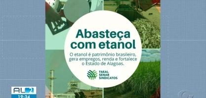 Setor sucroenergético de AL faz campanha pelo uso do etanol