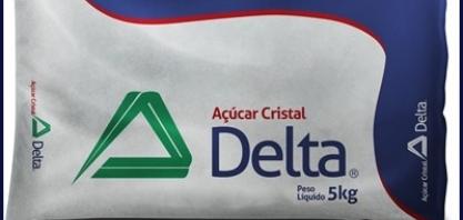 Delta é líder em vendas de açúcar no país, segundo pesquisa da Nielsen