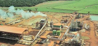Faturamento da usina Coruripe deve registrar alta de 5,4% neste ano