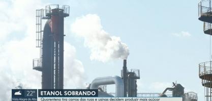 Quarentena tira carros de ruas e usinas produzirem menos etanol na região de Ribeirão