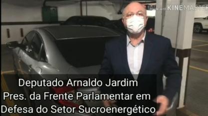 Desafio do etanol ganha adesão do Deputado Federal Arnaldo Jardim