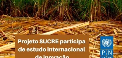 Projeto SUCRE participa de estudo internacional de inovação