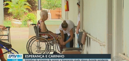 Iniciativa de empresa de açúcar e bioenergia ajuda idosos na pandemia em São Carlos