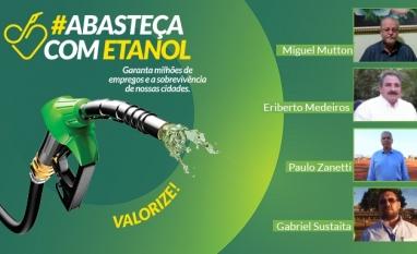 Presidente da Assembleia de Pernambuco, Executivos e Pesquisador apoiam #DesafiodoEtanol