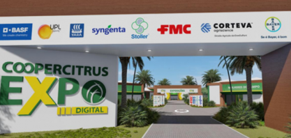 Coopercitrus Expo será virtual e ocorrerá de 27 a 31 de julho