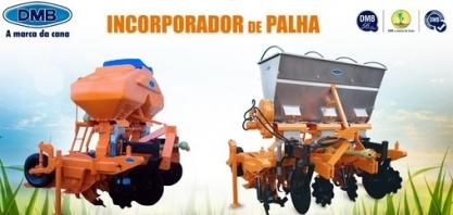 Implemento que incorpora a palha da cana é uma das atrações da Coopercitrus Expo Digital